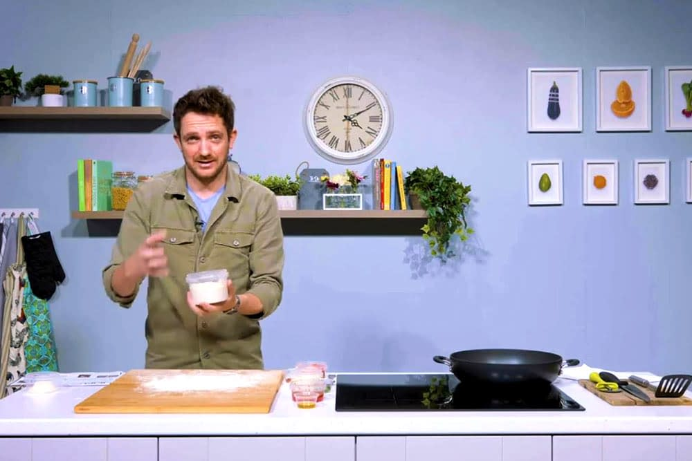 Online Pizza Making Masterclass with Danny O'Brien