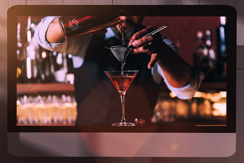 Online Cocktail Making Virtual Parties