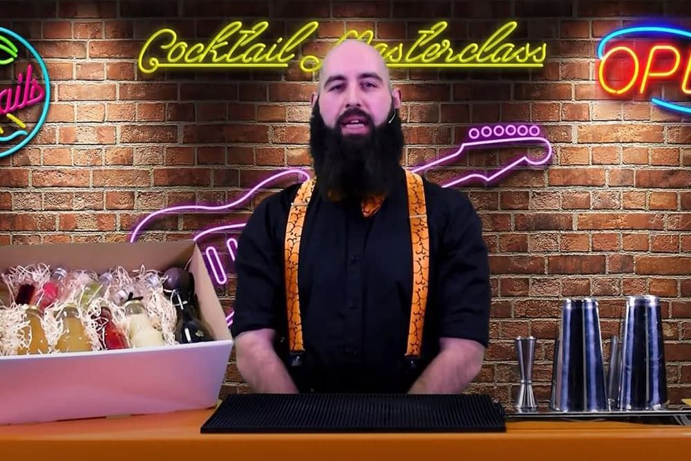 Fusion Events Cocktail Masterclass live