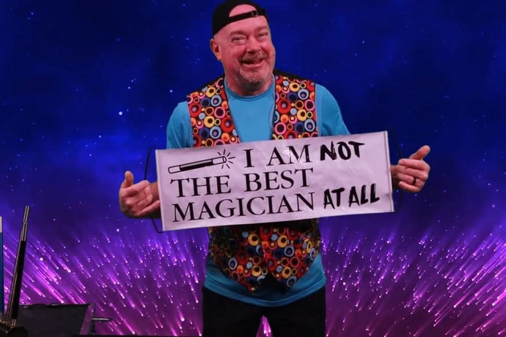Magician - Virtual Family Fun Day online event