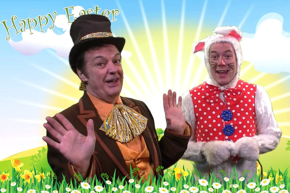 The Mad Hatter and The Easter Bunny