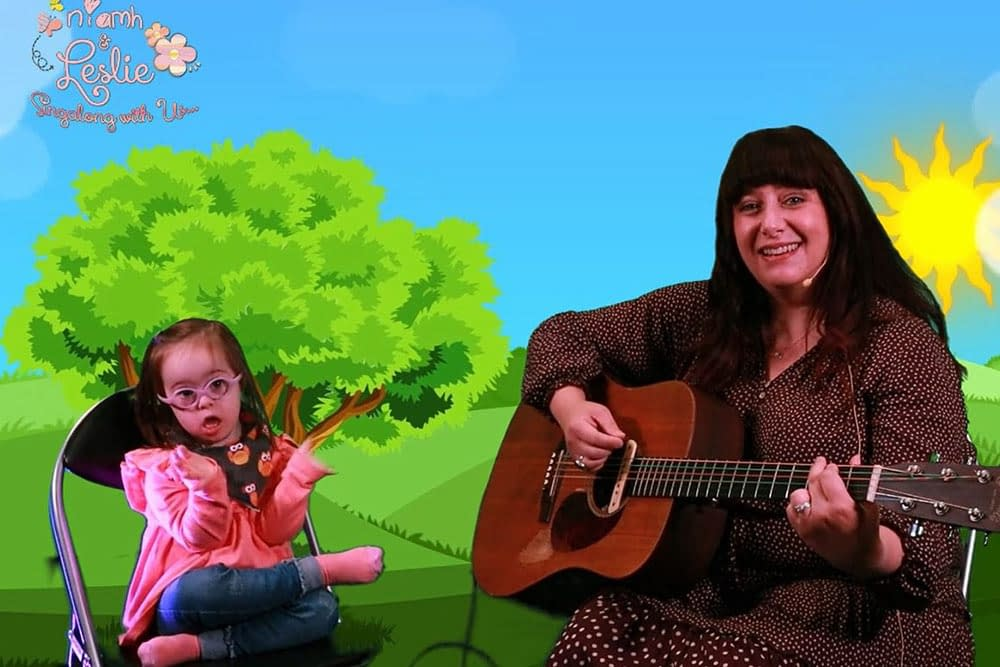 Singing - Virtual Family Fun Day online event